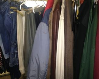 Jackets and slacks