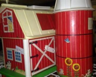 Fisher Price barn & silo