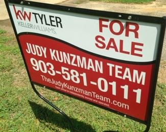 Look for the Judy Kunzman sign, park, and come on in!