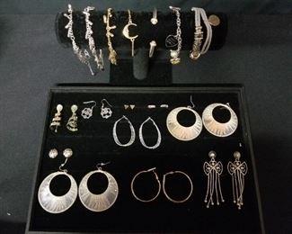 Charm Bracelets and Hoops