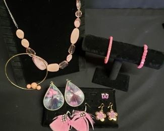 Eclectic Pink Jewelry
