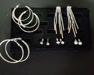 Enchanting Rhinestone Earrings