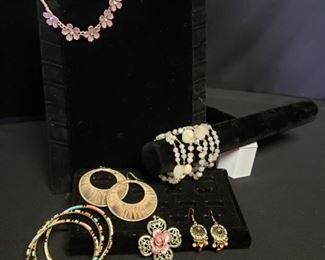 Floral Costume Jewelry