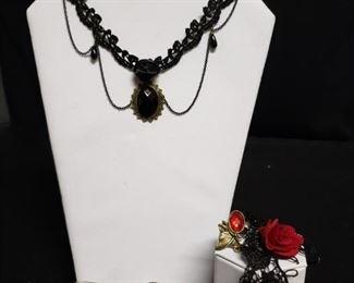 Romantic Costume Jewelry Lot