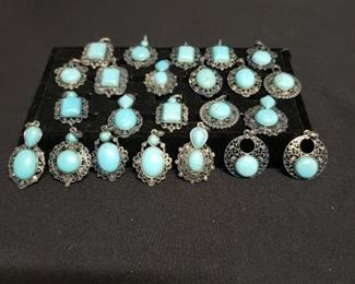 Turquoise Colored Pendants