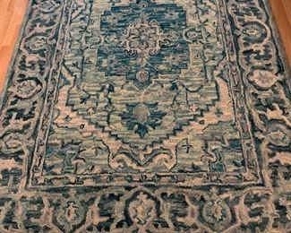 5x8 wool loop carpet