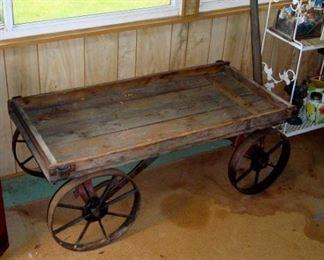 Antique wagon.