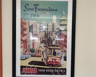 TWA Poster San Francisco