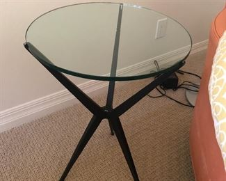 Tripod Table in the manner of Gio Ponti or Hans Bellman $100