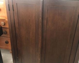 Cabinet  Crate and barrel - with a small issue $100