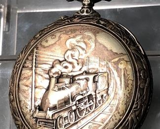Very large antique pocket watch