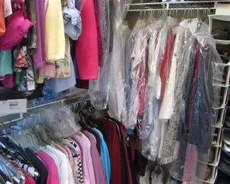 Ladies Clothing, CLEAN, CLEAN, CLEAN, shoes, handbags,etc.. Many, many items with original tags..