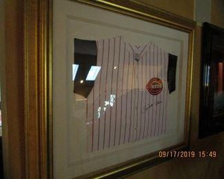 """Framed, Signed, """"Pete Rose""""..."""