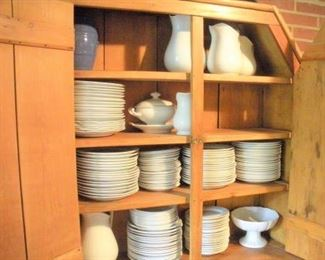 Only a portion of the Ironstone china available....anyone serving dinner for 50 people???