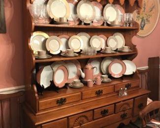 Maple Queen Anne Welsh cabinet