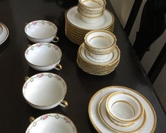 beautiful Limoges dishes - reasonable offer accepted