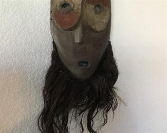 shrunken head figurine from South America – $45