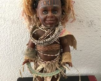 African witch Dr. doll – $125