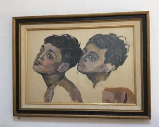 original art pastels – price $225