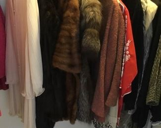 vintage mink coats and stoles price $95-$195