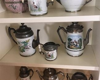 Collection of Enamelware