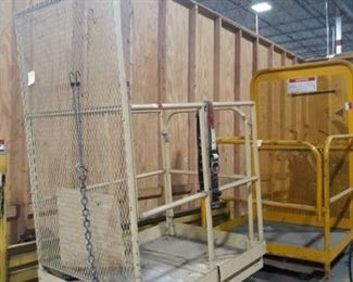 Workmaster Lift Truck Safety Cage
