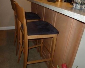 Cherry bar stools