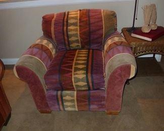 Richard Honquest club Chair ,Silk Throw Pillows