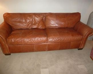 Bernhardt Leather Sofa Great Condition