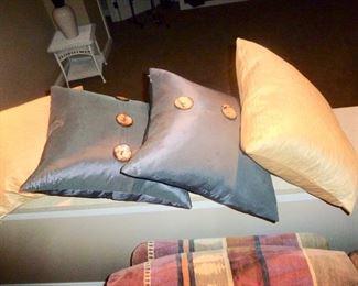 Silk Pillows pottery barn