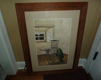 Cork framed