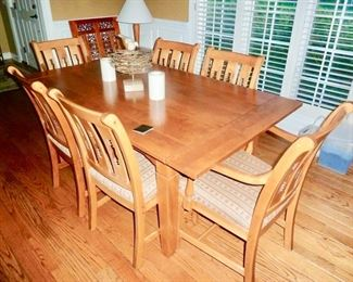 Cherry table & chairs  ( Nichols & Sons )
