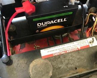new battery mower