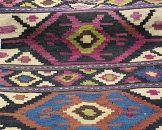 "Woven Rug/Tapestry - Native American 22"" x 24.5"""