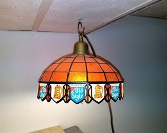 Old Style pair of light fixtures