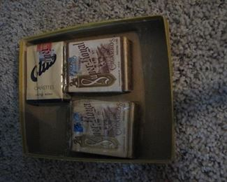Old unopened Cigarette packages