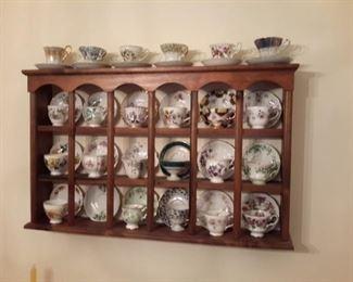 China Tea Cups and tea cup display