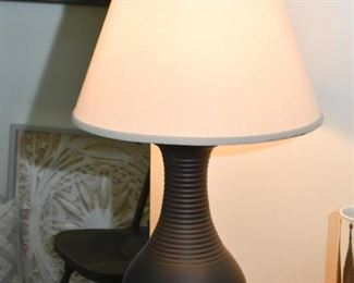 Black Ceramic Table Lamp