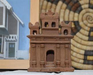 Mexican Folk Art Clay Pottery