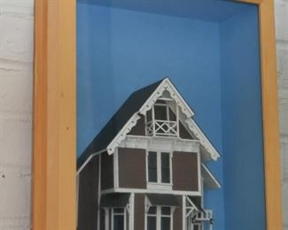 Architectural Shadowbox / Diorama (Victorian House)