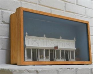 Architectural Shadowbox / Diorama (Main Street Store Fronts)