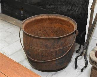 Rusty Metal Bucket