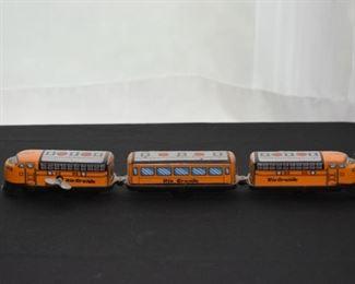 Vintage Tin Wind-Up Train Toy (Rio Grande)