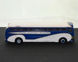Corgi Union Pacific Stages Bus Toy