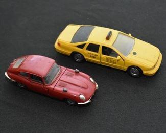 Vintage Car Toys & Models