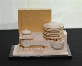 Legos Architecture - Guggenheim Museum