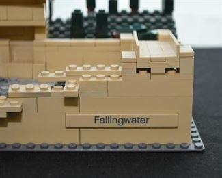 Legos Architecture - Frank Lloyd Wright, Fallingwater