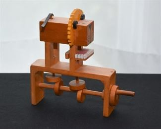 Wooden Mechanical Toy Lion