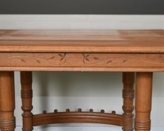 Antique Victorian Eastlake Table