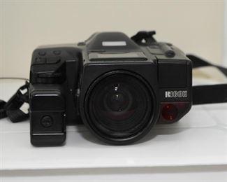 Ricoh Mirai 35mm - 135 mm Camera with Flash Attachment